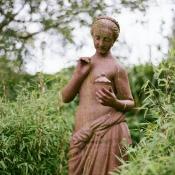 Statue at Castle Oliver