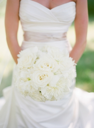 Sweetheart Neckline Bridal Gown