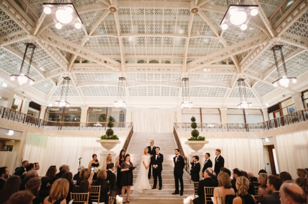 The Rookery Chicago Wedding Ceremony