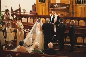 Traditional Church Wedding From Morgan Trinker