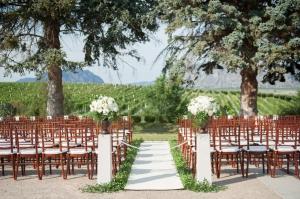 Vineyard Wedding Ceremony