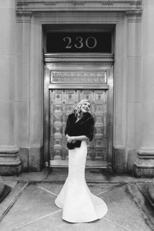 Vintage Inspired Chicago Bride