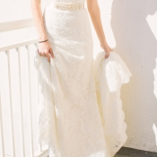 Watters Lace Gown