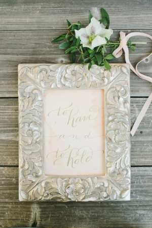 Wedding Print by The Left Handed Calligrapher