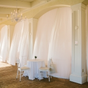 Wedding Reception Decor Curtains