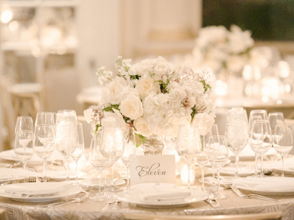 White Table Setting Reception Ideas  sc 1 st  Elizabeth Anne Designs & White Table Setting Reception Ideas - Elizabeth Anne Designs: The ...