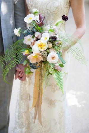 Wildflower Bouquet With Fern