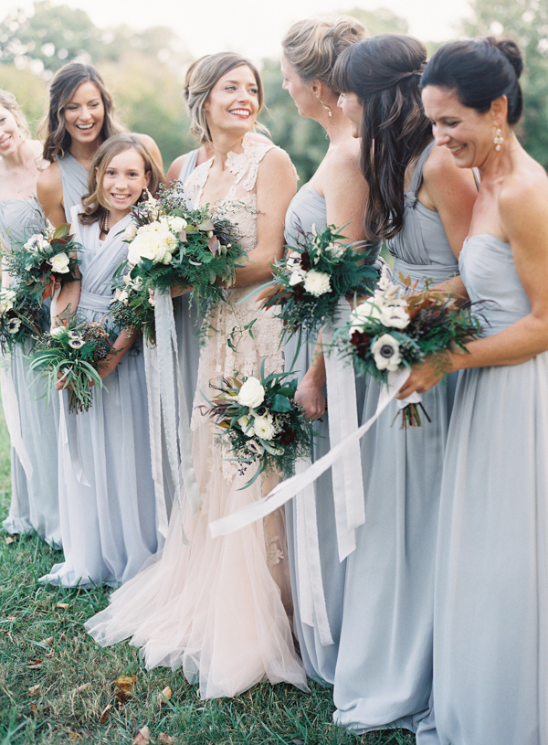 Light Blue Chiffon Bridesmaid Dresses - Elizabeth Anne Designs: The ...
