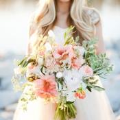 Amaryllis Bouquet by Calie Rose