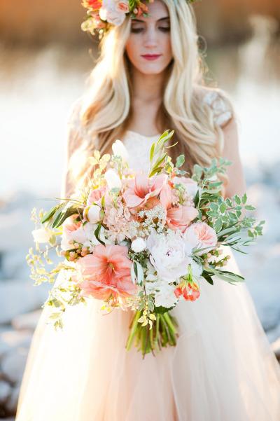 Amaryllis bouquet by calie rose elizabeth anne designs for Bouquet amaryllis