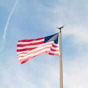 American Flag DC Wedding From Marta Locklear