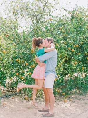 Bok Tower Gardens Engagement Session From Jennifer Blair Photography 11