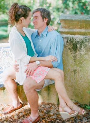 Bok Tower Gardens Engagement Session From Jennifer Blair Photography 8
