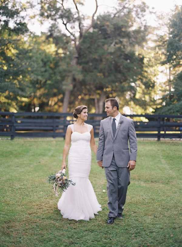 Bridal Gown With Mermaid Skirt