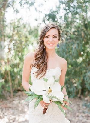 Bride in Blue Earrings