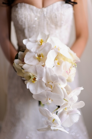 Cascading Orchid Bouquet