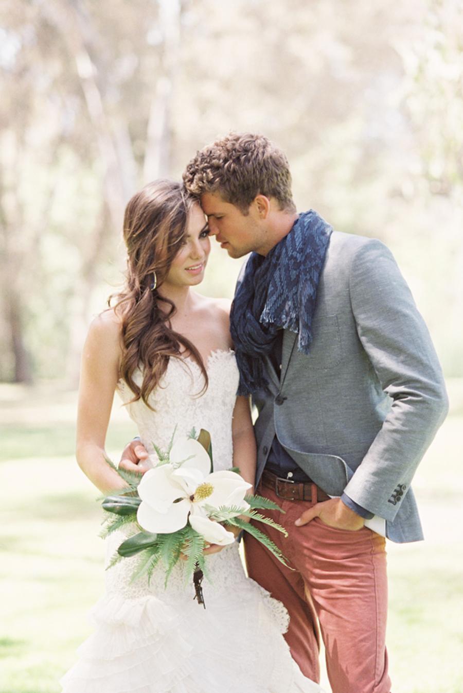 Casual modern wedding