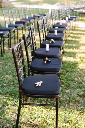Chiavari Chairs Outdoor Ceremony Seating