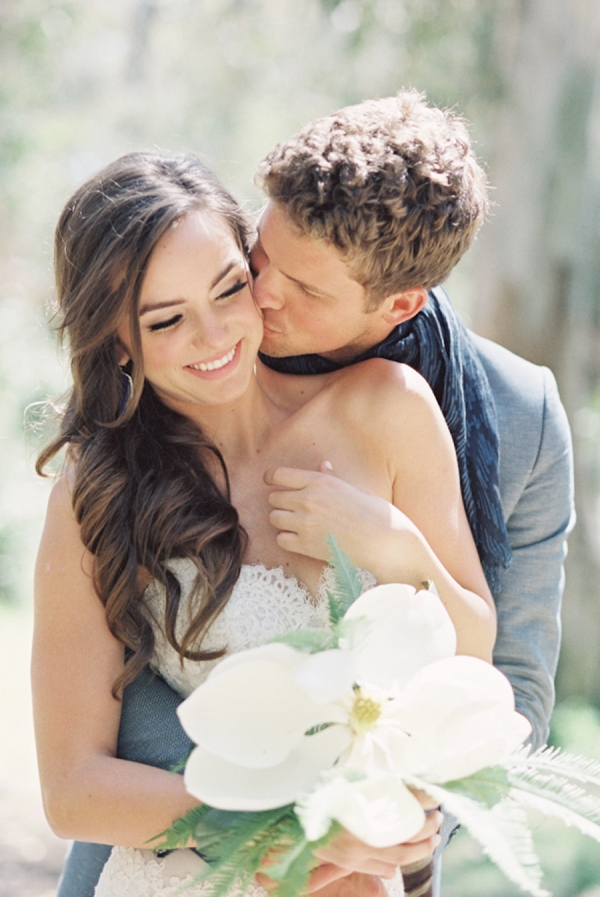 Chic Casual Bride and Groom
