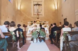 Church Wedding Ceremony in Italy