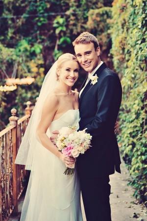 Classic Bride and Groom Wedding Attire