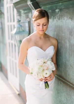 Classic Elegant DC Bridal Portrait