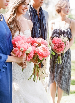 Cobalt Blue Bridal Party