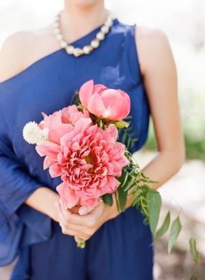 Cobalt Blue Bridesmaid