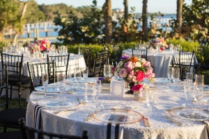 Colorful Sparkly Wedding Tables