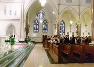 DC Catholic Wedding Ceremony