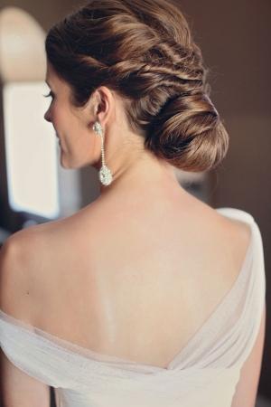 Diamond Drop Earrings Bridal Jewelry