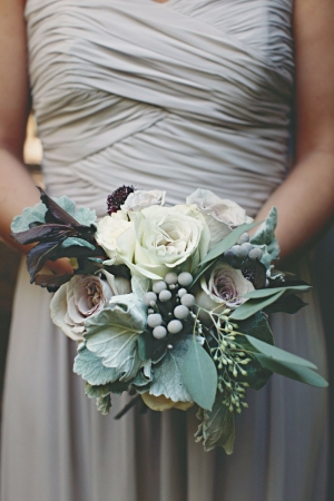 Earthy Rose and Greenery Bouquet
