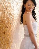 Elegant Beaded Bridal Gown