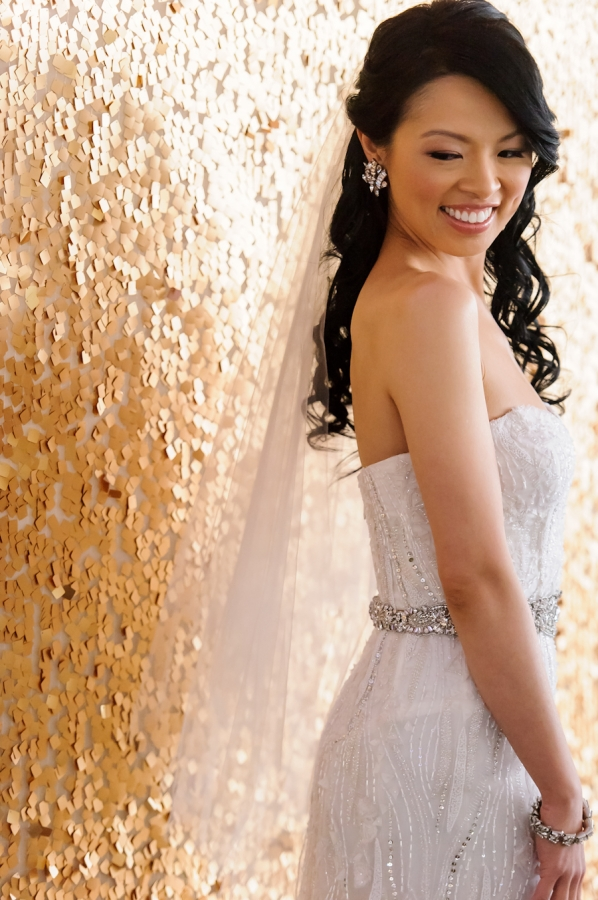 Elegant Beaded Bridal Gown
