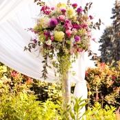 Elegant Chuppah Flowers