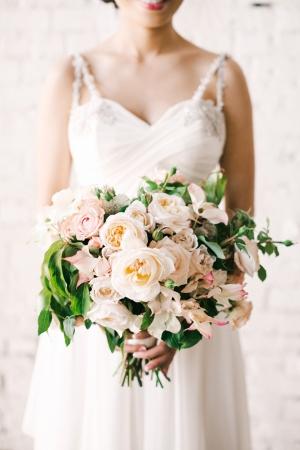 Elegant Garden Style Bouquet By McKenzie Powell Floral & Event Design