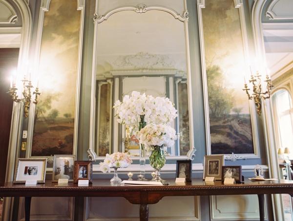 Elegant Guest Book Table