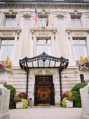 Entrance to Cosmos Club