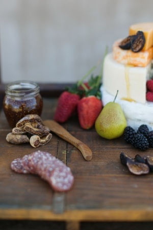 Fruit Cheese and Charcuterie Platter