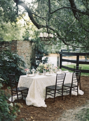 Garden Wedding Tabletop