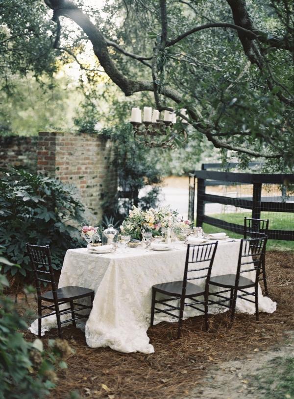 Garden Wedding Tabletop
