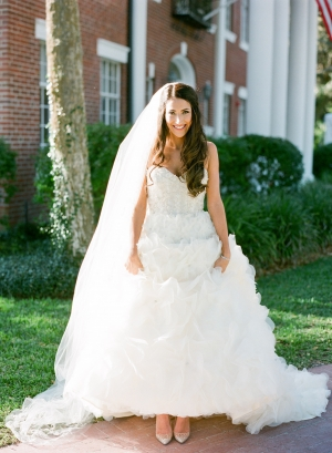 Glamorous Florida Bride