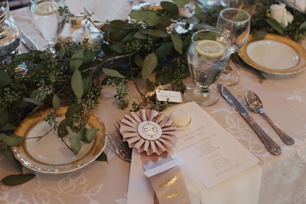 Greenery Garland Table Centerpiece