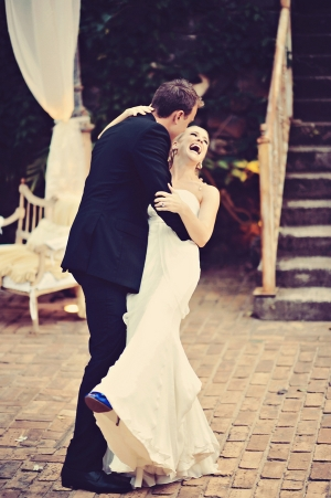 Groom Dipping Bride First Dance Ideas