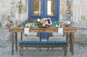Jewel Toned Tabletop