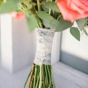 Lace Wrap on Bouquet