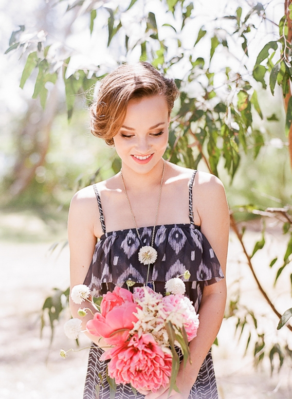 Modern Bohemian Bridesmaid