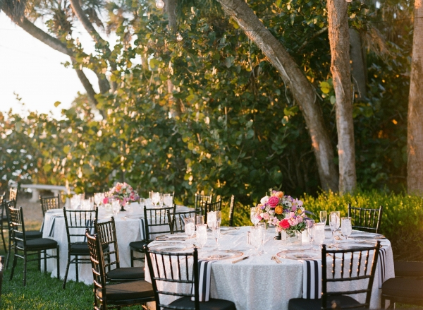 Modern Colorful Florida Wedding