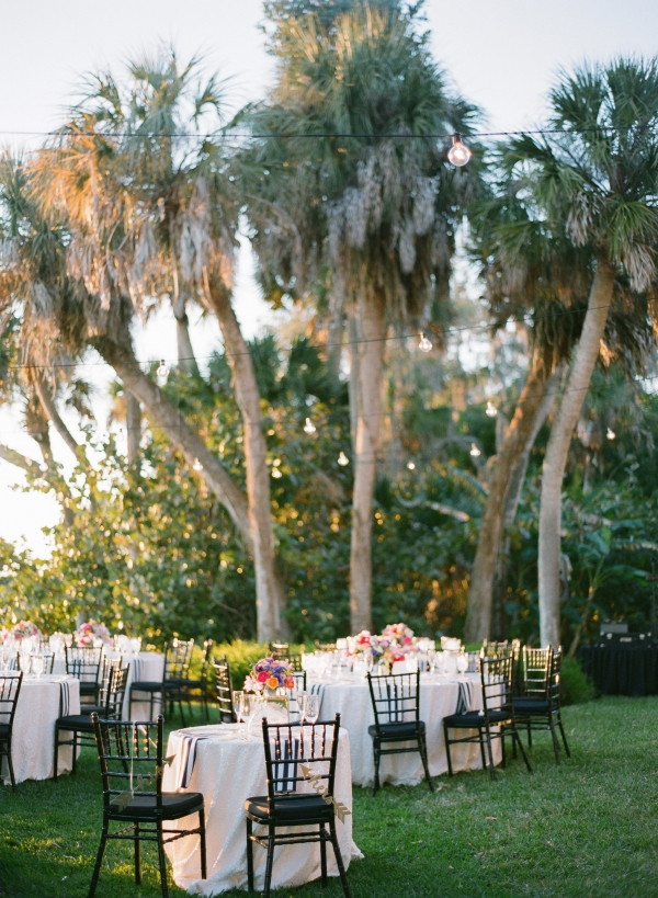 Modern Colorful Outdoor Wedding