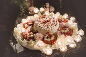 Ornate Italian Wedding Cake